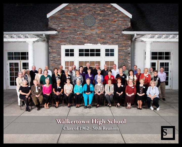 Walkertown high school class of 1962 50th reunion smoot photography